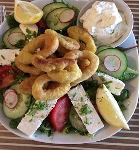Griekse salade bijgewerkt