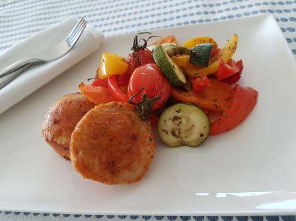 Gegrilde groentenschotel & kiptournedos 2