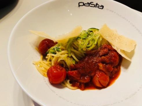 Courgetti-pasta