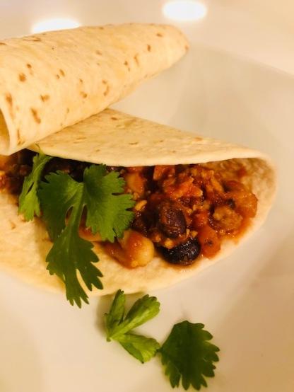 Mexican burrito's