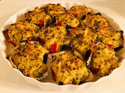 witloofcupcakes klaar