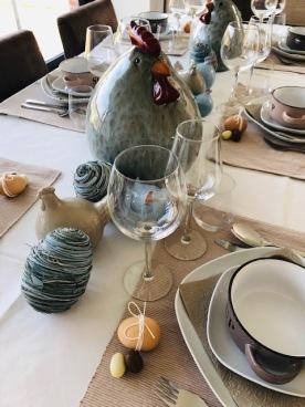 Pasen tafel geheel